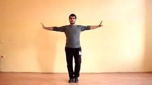 آموزش رقص آذری لزگی بخش 2