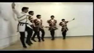 رقص زیبای لزگی - آذربایجانی