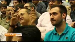 جناب خان در ورزشکاه ازادی