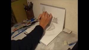 یک نقاشی سه بعدی حرفه ای بی نظیر