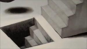 تکنیک های نقاشی ...۳بعدی