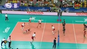 لیگ جهانی والیبال ۲۰۱۵ - ایران و لهستان - ست اول
