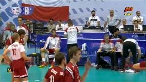 لیگ جهانی والیبال ۲۰۱۵ - ایران و لهستان- ست چهارم