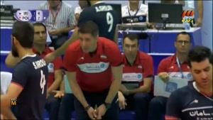 لیگ جهانی والیبال ۲۰۱۵ - ایران و لهستان- ست سوم