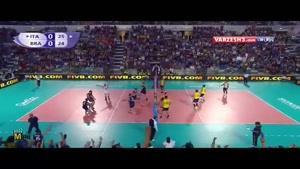 لیگ جهانی والیبال ۲۰۱۵ - ایتالیا و برزیل -بازی اول