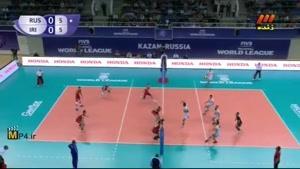 لیگ جهانی والیبال ۲۰۱۵ - ایران و روسیه - ست اول