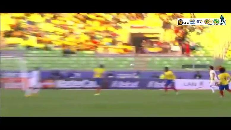 بولیوی ۳-۲ اکوادور