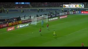 شیلی ۲-۰ اکوادور