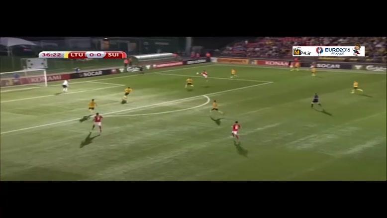 لیتوانی ۱-۲ سوئیس