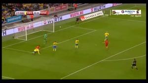 سوئد ۳-۱ مونته نگرو