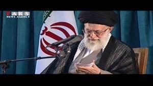 آیتالله خامنهای در ارتحال امام خمینی ره فرمودند