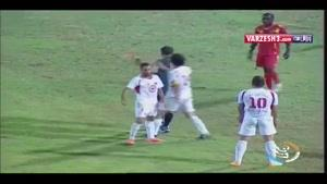 بی اخلاقی بازیکنان فوتبال ایران