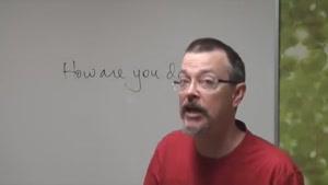 آموزش زبان - انگلیسی آمریکایی - پارت ۱
