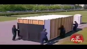 دوربین مخفی خنده دار دستشویی وسط سالن جلسه!!!