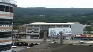 فرو ریختن خونه بر اثر سیل در مازندران