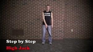 آموزش رقص هیپ هاپ قسمت High Jack