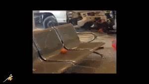 فیلم حادثه دیدگان فرودگاه جده