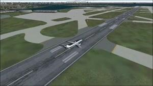 انیمیشن سقوط هواپیمای fsx