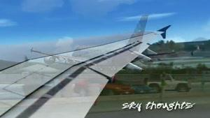 انیمیشن فرود هواپیما