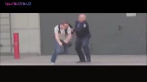 واکنش پلیس هنگام سرقت کلاهش