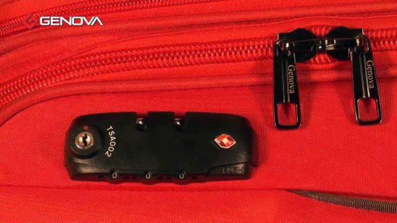 قفل های TSA چمدان
