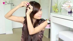 روش ساده شینیون مو برای موهای بلند