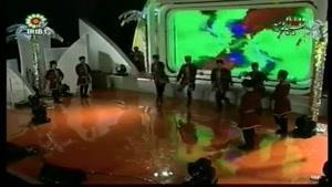 هنرنمایی گروه رقص آذری