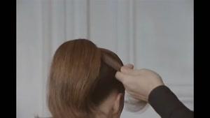 شینیون موی عروس-روش ساده