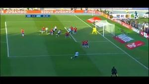 شیلی ۰-۰ آرژانتین (پنالتی ۴-۱)
