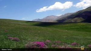 مناظر طبیعی از شهر تهران