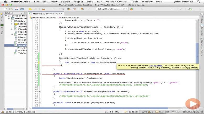 آموزشی ساخت و توسعه اپلیکیشن های IOS قسمت ۳۰
