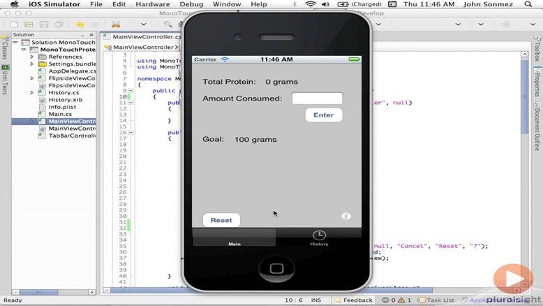 آموزشی ساخت و توسعه اپلیکیشن های IOS قسمت ۳۲