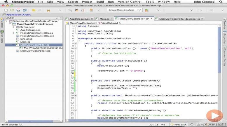 آموزشی ساخت و توسعه اپلیکیشن های IOS قسمت ۱۰