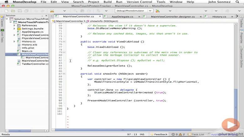 آموزشی ساخت و توسعه اپلیکیشن های IOS قسمت ۲۷