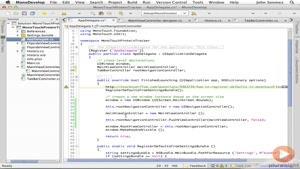 آموزشی ساخت و توسعه اپلیکیشن های IOS قسمت ۲۵