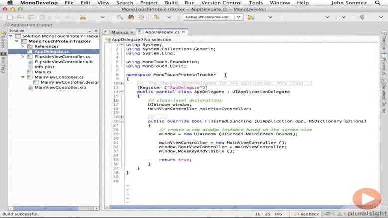 آموزشی ساخت و توسعه اپلیکیشن های IOS قسمت ۷