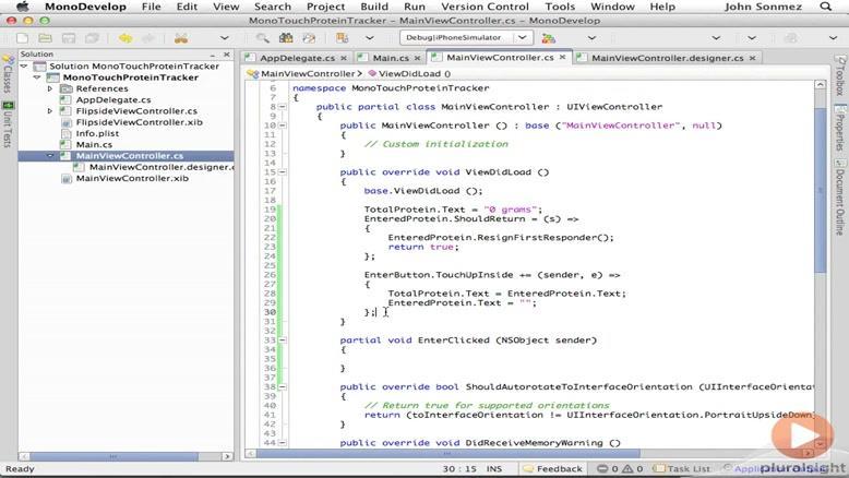 آموزشی ساخت و توسعه اپلیکیشن های IOS قسمت ۱۳