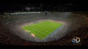 طرفداری شدید از تيم فوتبال بارسلونا اسپانيا