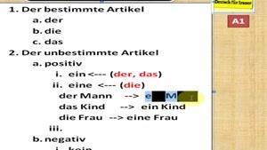 یادگیری زبان و گرامر آلمانی قسمت ۳