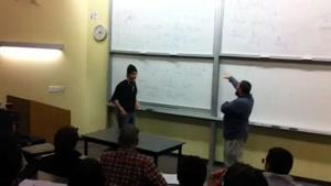 کم آوردن دانشجو در قابل استاد