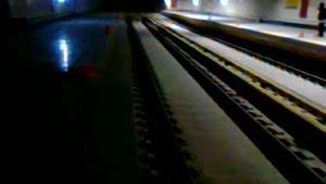 سیل در مترو