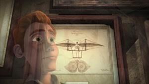 انیمیشن اختراع ماشین پرنده