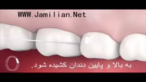 چگونه ازنخ دندان استفاده کنیم