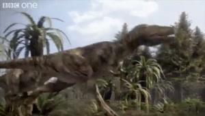 شکار یک دایناسور