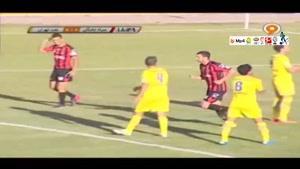 سیاه جامگان 1-0 نفت تهران