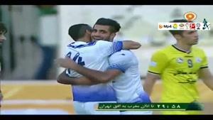 نفت تهران 3-3 ملوان