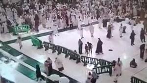 سقوط جرثقیل در مسجد الحرام