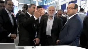 بازدید جناب آقای دکتر محمد سلیمانی از غرفه پیشتاز
