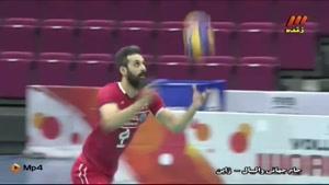 ایران و آرژانتین - جام جهانی والیبال ۲۰۱۵ - ست دوم