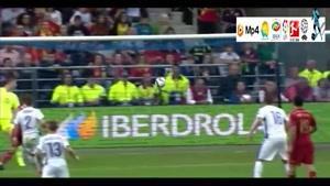 اسپانیا ۲-۰ اسلواکی